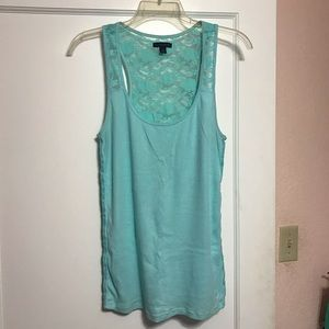 American Eagle Tank Top with lace back